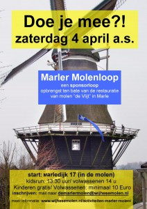 affiche sponsorloop 4 april 2020